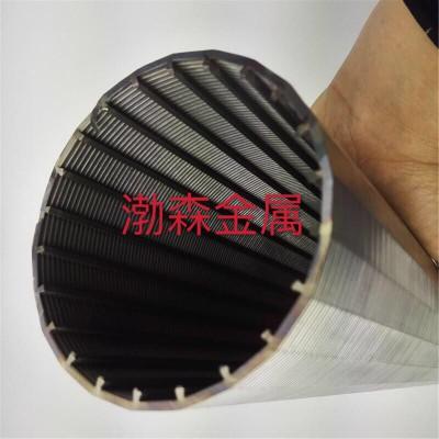 三角丝正卷筛管     不锈钢石油防砂套管