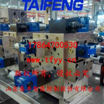 800吨龙门剪切机二通插装阀液压系统