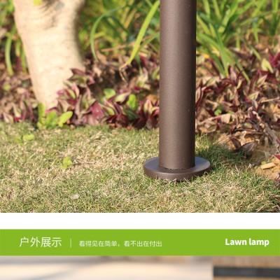 太阳能灯户外防水 led圆柱不锈钢别墅庭院灯景观太阳能草坪灯