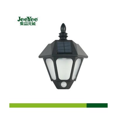 太阳能路灯LED路灯光控壁挂感应灯众益科技集益光能可来图定制