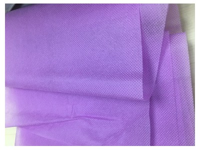 厂家直销现货供应紫色无纺布 规格克重可定制