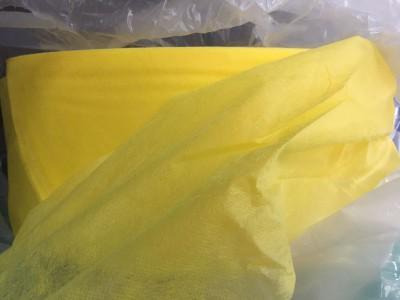 厂家提供白菜价格 黄色无纺布