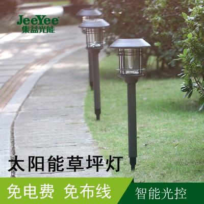 太阳能户外草坪灯LED别墅园林花园庭院灯欧式防水草地灯