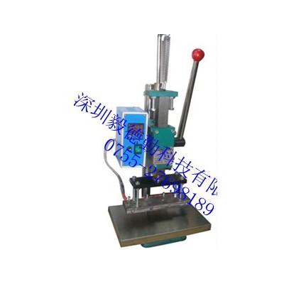 手压式竹木皮革塑胶烙印机商标logo烙印热压机家具打标烫印机