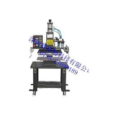 木材印字烫金机气动烫印机压痕商标图案烫印机皮革塑料烫金机