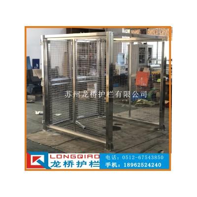 江苏自动化设备围栏 设备围栏防护304不锈钢隔离围栏龙桥订制