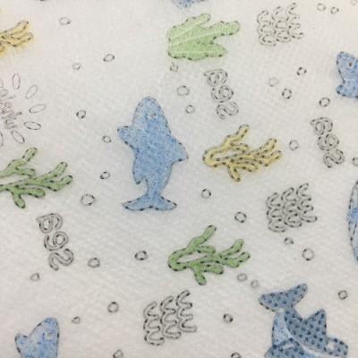 口罩用布 海底世界卡通图案款 印花PP无纺布 (可定制)