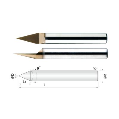常州生产合金雕刻刀 钥匙机专用/CNC