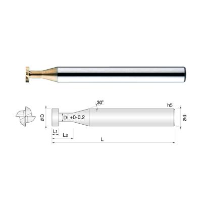 常州生产合金T型铣刀 可定制焊接刀具/CNC