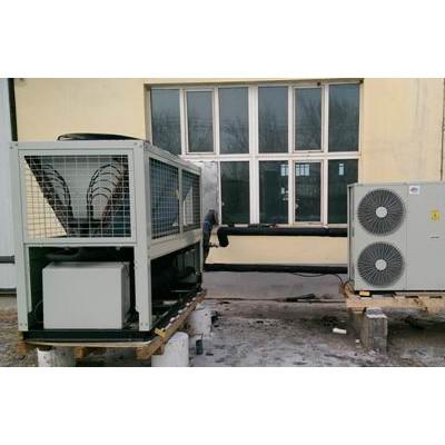 低温环境风冷热泵空调机组