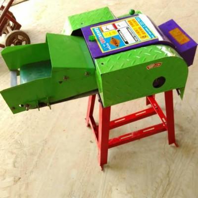 小型输送带铡草机 全自动多功能秸秆铡草机