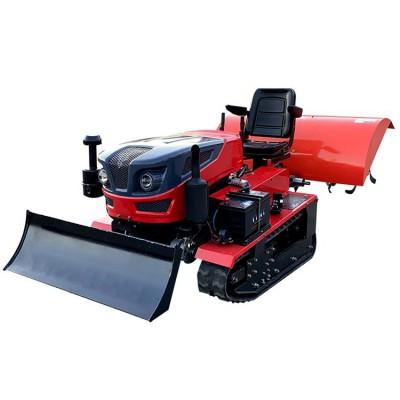 乘坐式微耕机 履带式旋耕机 多功能田园管理机