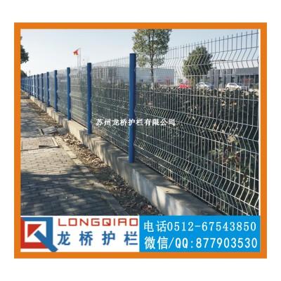 孝感园林隔离网 防护网 镀锌喷塑桃型柱护栏网 厂家定制