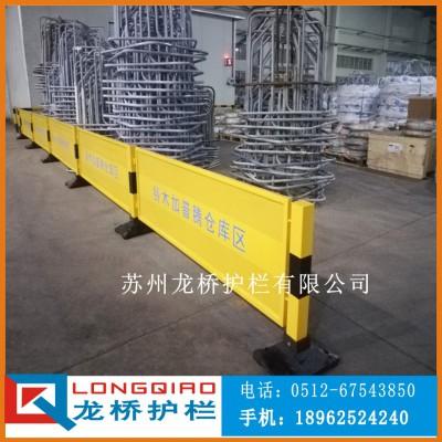 苏州高质量冲孔板隔离网移动式冲孔板防护网带铸铁底敦 龙桥厂家
