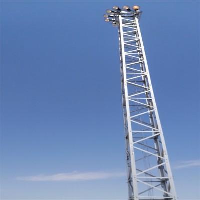 铁路升降式投光灯塔/升降灯塔/升降铁塔/高杆灯塔/一字型灯塔