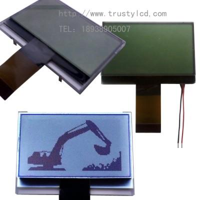 2.3寸单色LCD液晶显示屏12864图形点阵COG结构