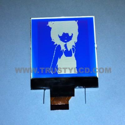 2.4寸单色LCD液晶显示屏128128图形点阵