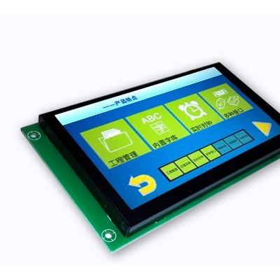 6.2寸智能工业串口彩屏模块带TP触摸功能