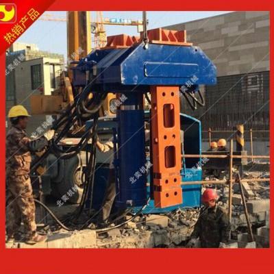 北奕机械生产BY-BZJ-500DS型液压ms工法大型拔桩机 拔桩机械厂家 其他桩工机械