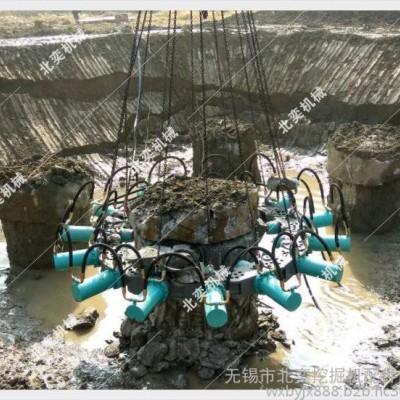 北奕机械圆桩水泥搅拌桩破桩器 截桩器 截桩机械 破桩机械