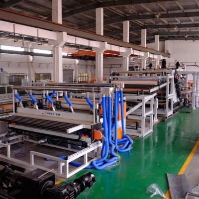 EVA胶膜设备 PE钢带包装卷材机组 PE塑料包装片材生产线