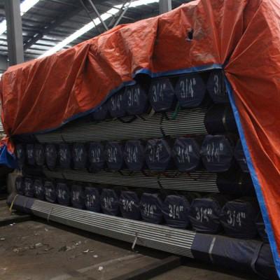 镀锌管 天津钢管包装定制钢管加工加工出口包装打捆包装