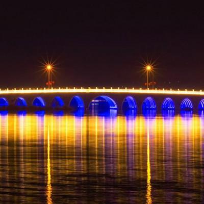 楼体亮化工程 郑州亮化工程 桥梁亮化工程灯光 桥梁亮化工程施