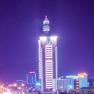 楼体亮化工程 洛阳亮化工程公司 LED亮化工程 大楼亮化工程