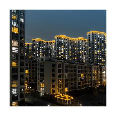 楼体亮化工程 郑州亮化工程 城市大楼照明亮化工程 楼宇外墙照