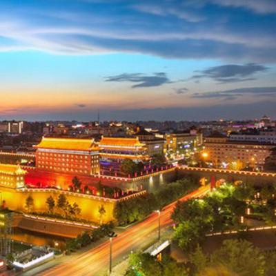 楼体亮化工程 朔州景观亮化工程 LED城市景观亮化工程 户外