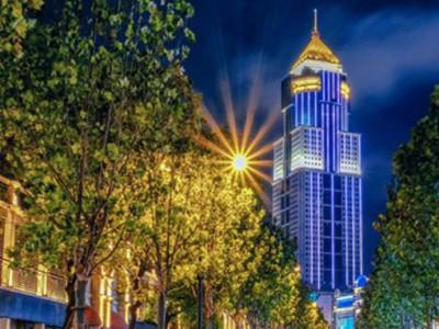 楼体亮化工程 郑州景观亮化工程 城市夜景亮化工程 景观亮化工