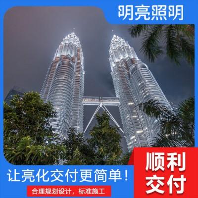 楼体亮化工程 郑州亮化工程公司 医院楼体亮化工程 楼体外墙亮