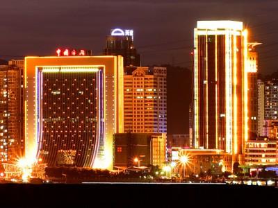 楼体亮化工程 南阳城市亮化公司 城市亮化工程 大楼亮化工程