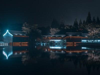 楼体亮化工程 河南景观亮化工程 河道亮化工程效果图 河道亮化
