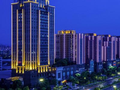 楼体亮化工程 郑州亮化工程厂家  住宅楼泛光照明 楼体亮化工