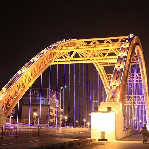 楼体亮化工程 郑州亮化工程 led桥梁亮化工程设计 城市夜景