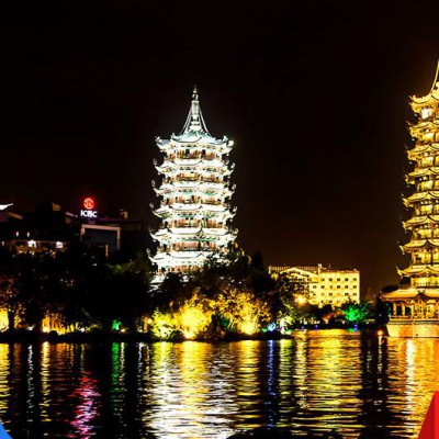 楼体亮化工程 郑州亮化工程 led城市亮化工程设计 城市景观