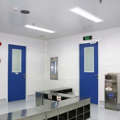钢制洁净门 净化车间专用门 病房实验室洁净门厂家直销安装