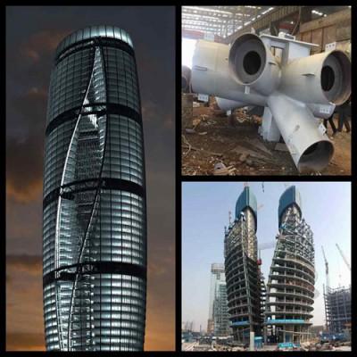 广东各种建筑钢结构大吨位铸钢件节点