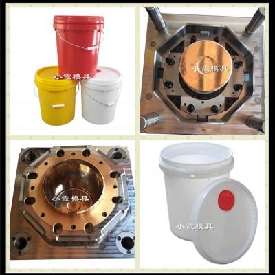 加工PE中国石油桶塑料模具 涂料桶模具制造