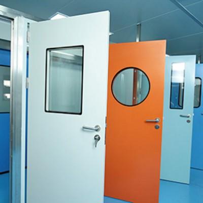 钢制洁净门 不锈钢洁净门 无尘净化车间钢质门洁净门厂家批发