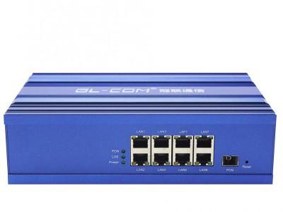 冠联通信生产销售8口工业级光猫设备