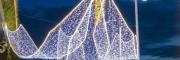 树木亮化挂饰灯 树木亮化串灯 灯带 亮化设计制作