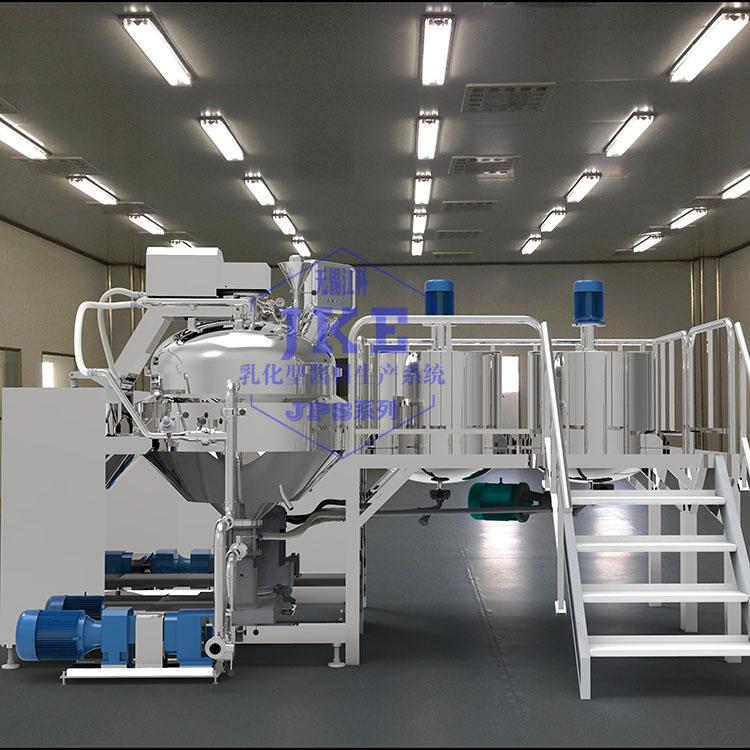无锡江科供应沙拉酱乳化机,沙拉酱均质乳化设备厂家