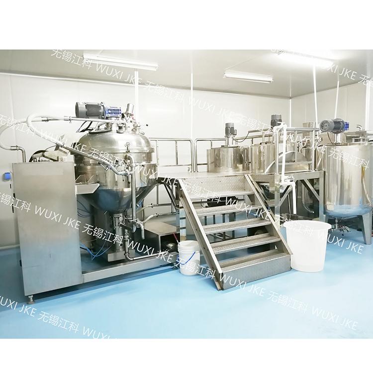 无锡江科吐司沙拉酱乳化机,面包沙拉酱乳化设备厂家