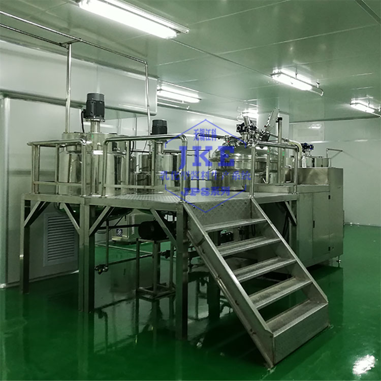 成套沙拉酱乳化机,冷加工沙拉酱乳化设备,沙拉酱生产系统方案