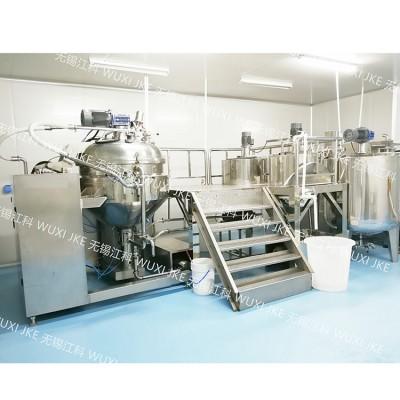 沙拉酱乳化生产系统,沙拉酱生产设备,实验室沙拉酱均质乳化机