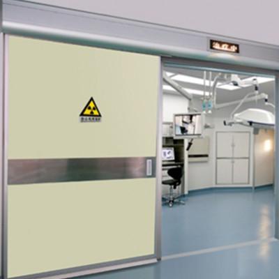 深圳供应医用气密门 手术室防辐射气密门 彩钢板平移门厂家