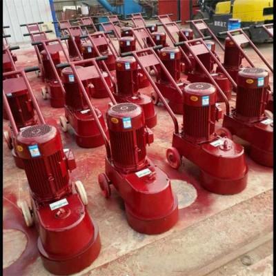 宇成手推式DMS350水磨石机 混凝土路面磨削打磨机现货出售