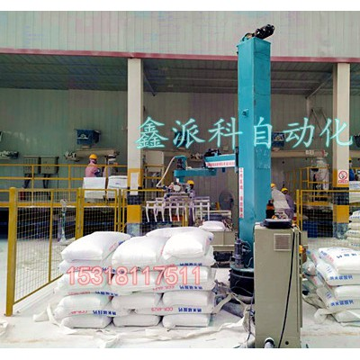 工业机器人立柱码垛机的优势及工作原理